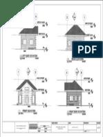 single storey house elevations