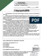 Lectura El Hipopotamo