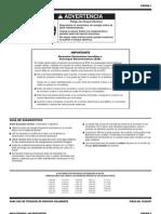 Manual de Lavadora Whirpool Digital