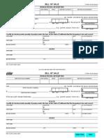 California DMV Bill of Sale (REG 135)