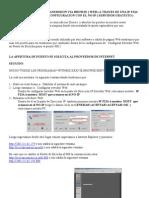Guia de Configuracion de Transmision via Browse ( Web ) a Traves de Una Ip Fija ( Reco