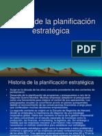 Historia de la planificación estratégica
