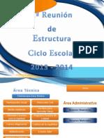 1ª R. Estructura 2013 - 2014