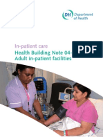 Health Building Note 04-01: