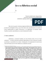 DIAS Paulo Educacao e a Fabrica Social