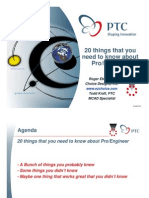 20 Things to Know About Proe