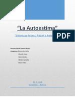 Informe Final La Autoestima