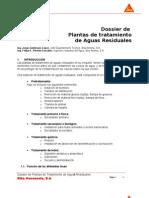 Plantas de Tratamientos de Aguas Residuales-dossier