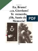 Giordano Bruno Martir Santo Internet