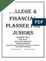Junior College Planning Class 2011