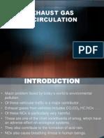 Exhaust Gas Recirculation Presentation