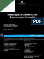 Metodología para la formulación de proyectos de innovación