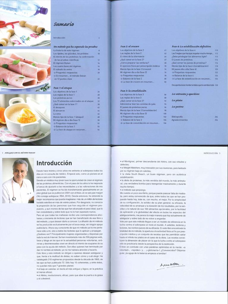 Dieta dukan escalera pdf