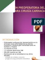 50 Evaluación Preoperatoria del Paciente para Cirugía Cardiaca