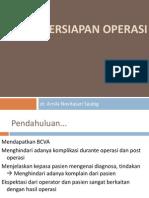 PPT persiapan operasi