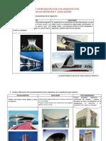 Estudio Comparativo de Los Arquitectos