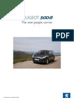 Peugeot 5008 Info-pack