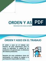 CAPACITACIÓN ORDEN Y ASEO