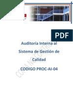 Auditorias Al Sgc 05