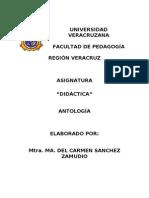 ANTOLOGÍA DE DIdactica PEDAGOGIA