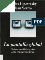 La Pantalla Global-Lipovetsky