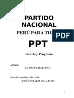ideario PERÚ PARA TODOS