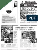 Versión impresa del periódico El mexiquense  14 agosto 2013