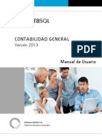 Manual ContaSOL 2013EV