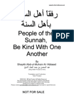 Be Kind With People of the Sunnah Final A4