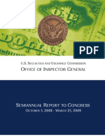 SEC Inspector General's Report to Congress