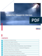 BDO Domestic Transfer Pricing Presentation