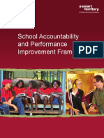 Accountability and Continous Improvement