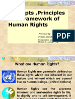 Human Rights Concepts,Principles & Framework