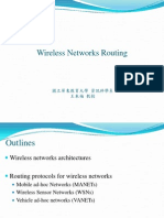 Wireless Networks Routing2003
