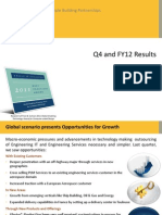Geometric Limited Analyst Presentation Q4 FY12 Final