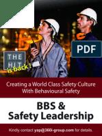 Behavioral Based Safety & Safety Leadership