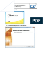 Conf Outlook 2010 Office 365