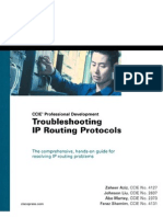 Troubleshooting IP routing