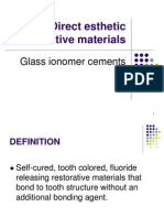 Glass Ionomer Cements Students
