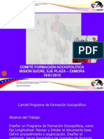 Resumen Comité Formación Sociopolítica Grupo Contenido 140110
