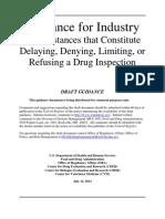FACILITY INSPECTION GUIDANCE-FDA.pdf