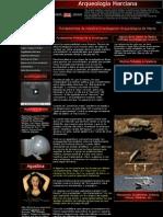Arqueologia Marciana - Comision de Exploraciones Arqueologicas - Corporacion Planetarios