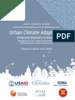 ASEAN Climate Leadership Academy, Urban Adapation