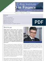 PhD in Finance Newsletter December2012 May2013