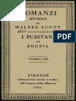 I Puritani di Scozia, vol. 3 by Sir Walter Scott