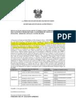 DIVULGAÇÃO DA SELEÇÃO DO GRUPO TUTORIAL PARA O PROGRAMA DE EDUCAÇÃO PELO TRABALHO PARA A SAÚDE