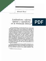 rouxAGRYSOC.latifundismo, RA y capitalismo en la península ibérica
