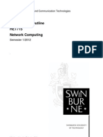 HET715 NetworkComputing Outline Sem 1 2012