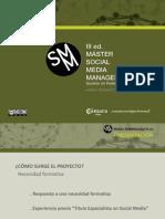 Presentación Máster en Social Media Management Asturias III Edición