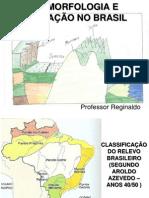 Relevo e mineração no Brasil